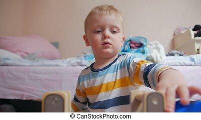 Car game boy on potty childrens room home interior