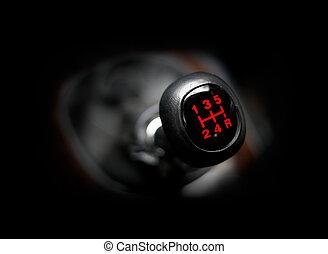 Car gearstick
