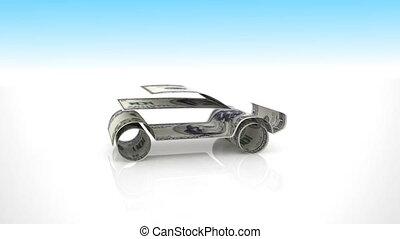car generated from money bills,Car Finance - Car Finance,...