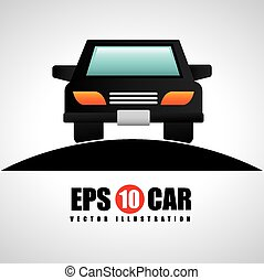 car icon design, vector illustration eps10 graphic