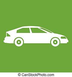 Car icon green