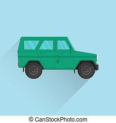 Car icon jeep