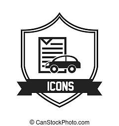car icon pictogram