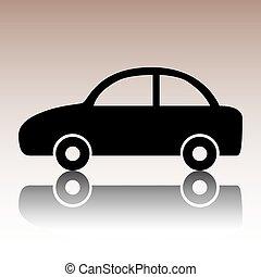 Car icon. Vector.