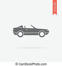 Car Icon Vector Object in EPS 10