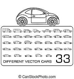 Car icons pack