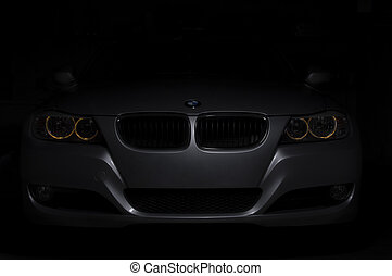 Amazing photo of BMW car in low light