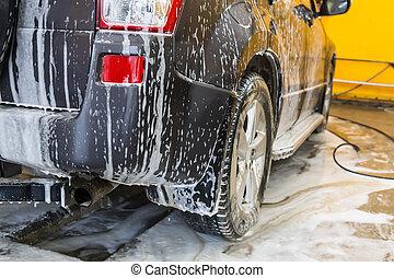car in penalty fee on car wash