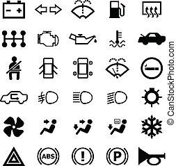 Car Indicator Icon