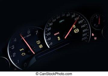 Car Instruments Dash