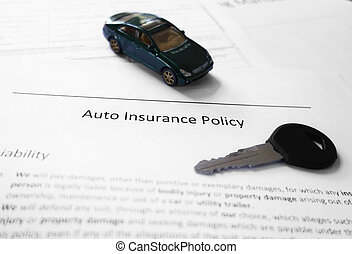 Car insurance and key
