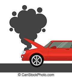 car insurance concept icon