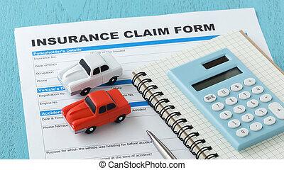 Car insurance with calculator - Car insurance claim form...