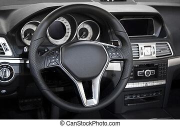 Car interior - Detail of the car interior