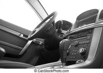 car interior detail