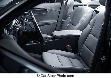 Car Interior Driver Side