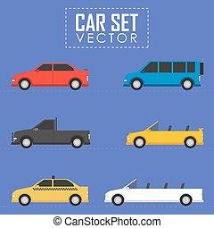 car, jogo, vetorial