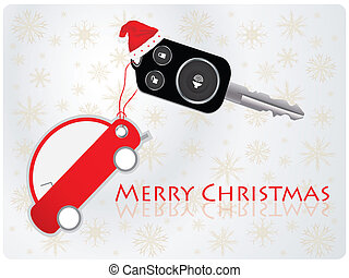 car key with remote - Christmas gift