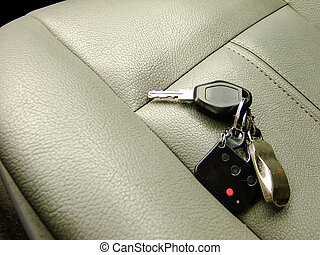 Car Keys on the Front Seat