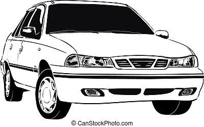 car korean old