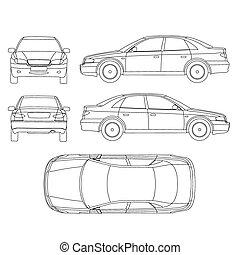 Car line crash isurance protocol