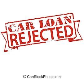 Car loan rejected