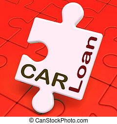 Car Loan Shows Auto Finance