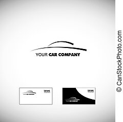 Car logo design icon