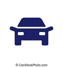 Car logo design vehicle icon silhouette on white background....