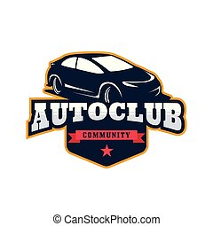 Car Logo template vector illustration