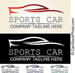 Car logo - Various graphic cars, easy customized, great for...