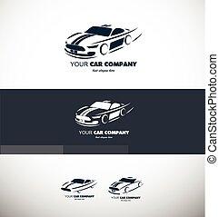 Car logo - Vector company logo icon element template car ...