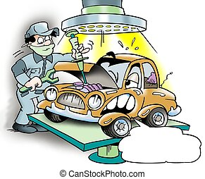 Car major overhaul