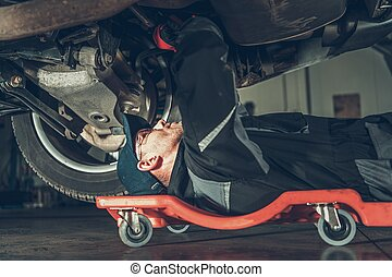 Car Mechanic Repair Job