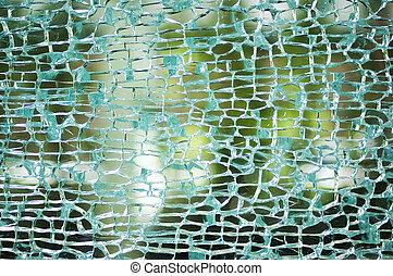 Car mirror broken
