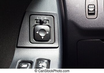 Car Mirror Control Button background..