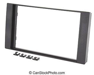 Car navigation double DIN frame