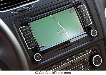 Car navigation multimedia system. - Car navigation system...