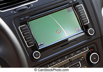 Car navigation multimedia system. - Car navigation system...