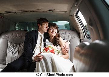 car, noivo, noiva