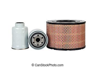 Car oil air fuel filter