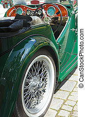 car, oldtimer