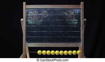 car on a chalkboard