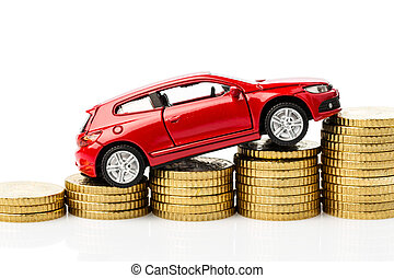 car on coins