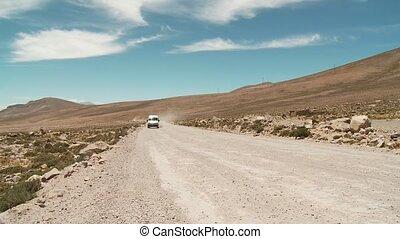 Car On Earth Road