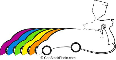 Car painting design