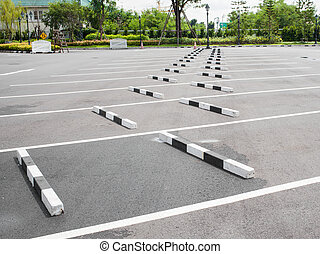 Car parking lot  - Car parking lot