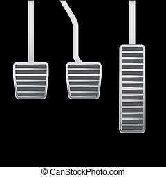 car pedals