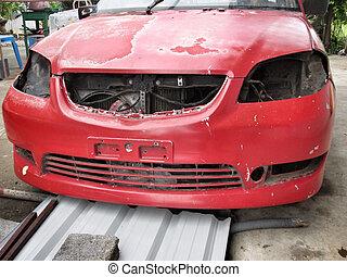 car peeling paint