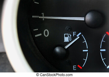 Car Petrol Fuel Gauge - Car fuel gauge for petrol - full